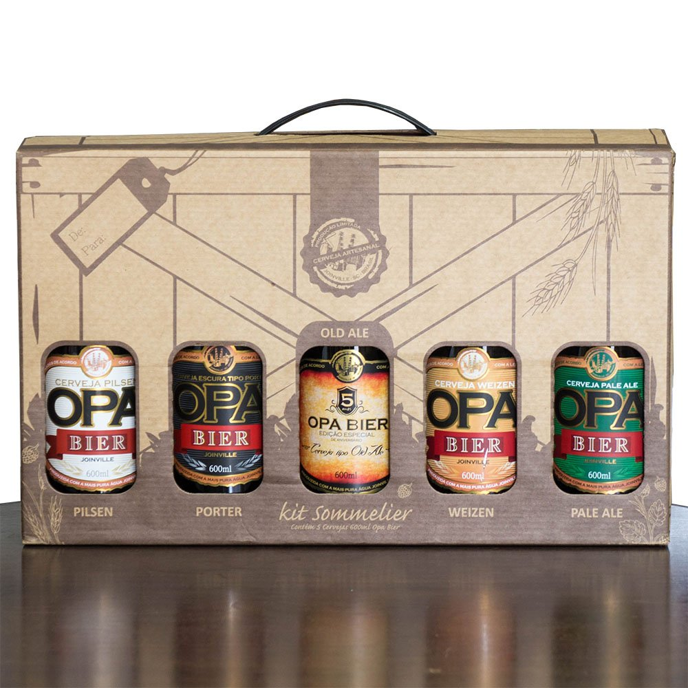 Kit Opa Bier 5 Cervejas 500ml