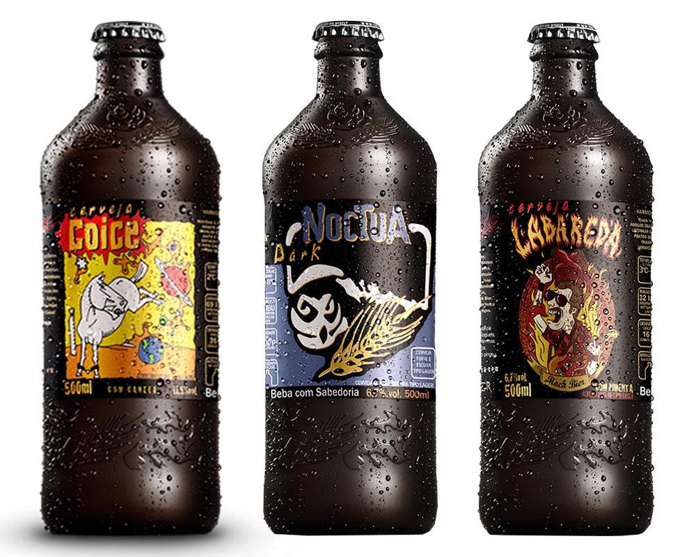 Kit Combo Cerveja Artesanal Coruja 3 Cervejas