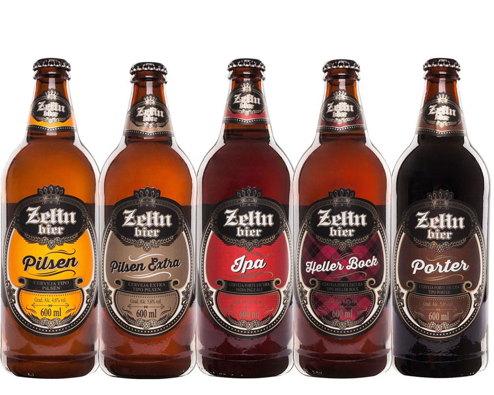 Kit Combo Cerveja Artesanal Zehn bier 5 cervejas