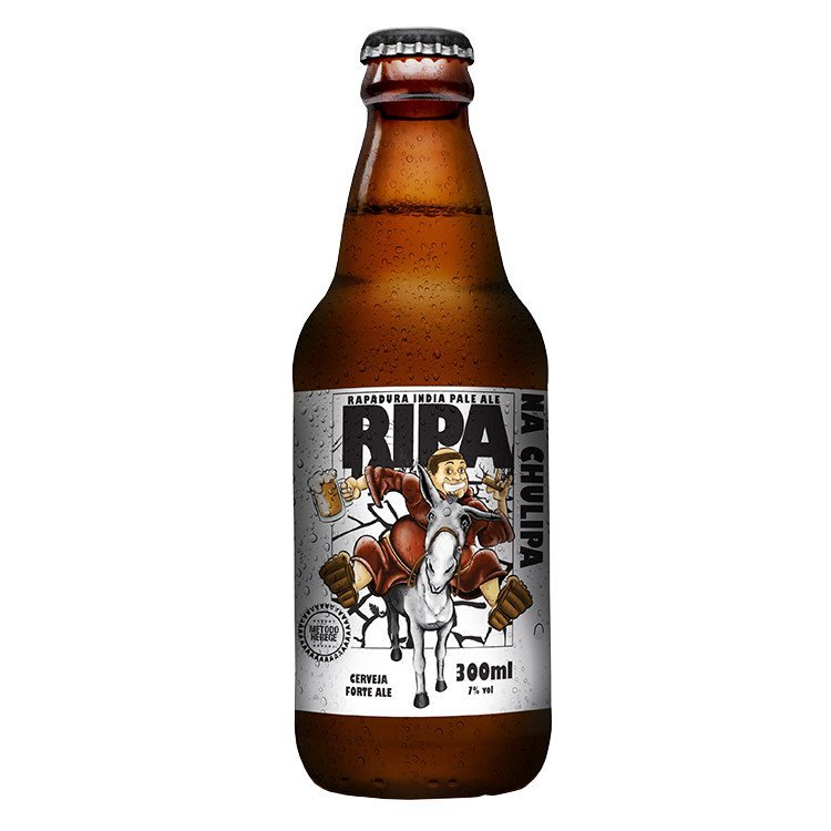 Cerveja Artesanal Saint Bier Ripa na Chulipa IPA com Rapadura