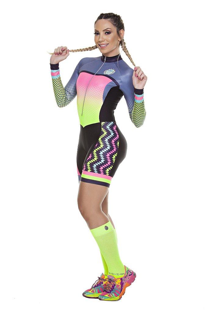 a0e219ba3 Macaquinho ciclismo masculino e feminino - By Marcia Store