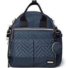 Bolsa Maternidade Skip Hop - Coleção Suite Backpack 6 Peças - Steel Grey