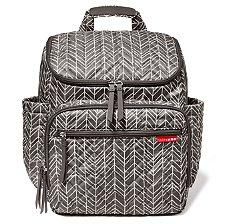 Bolsa Maternidade Skip Hop - Coleção Forma Backpack (mochila) - Estampa Grey Feather