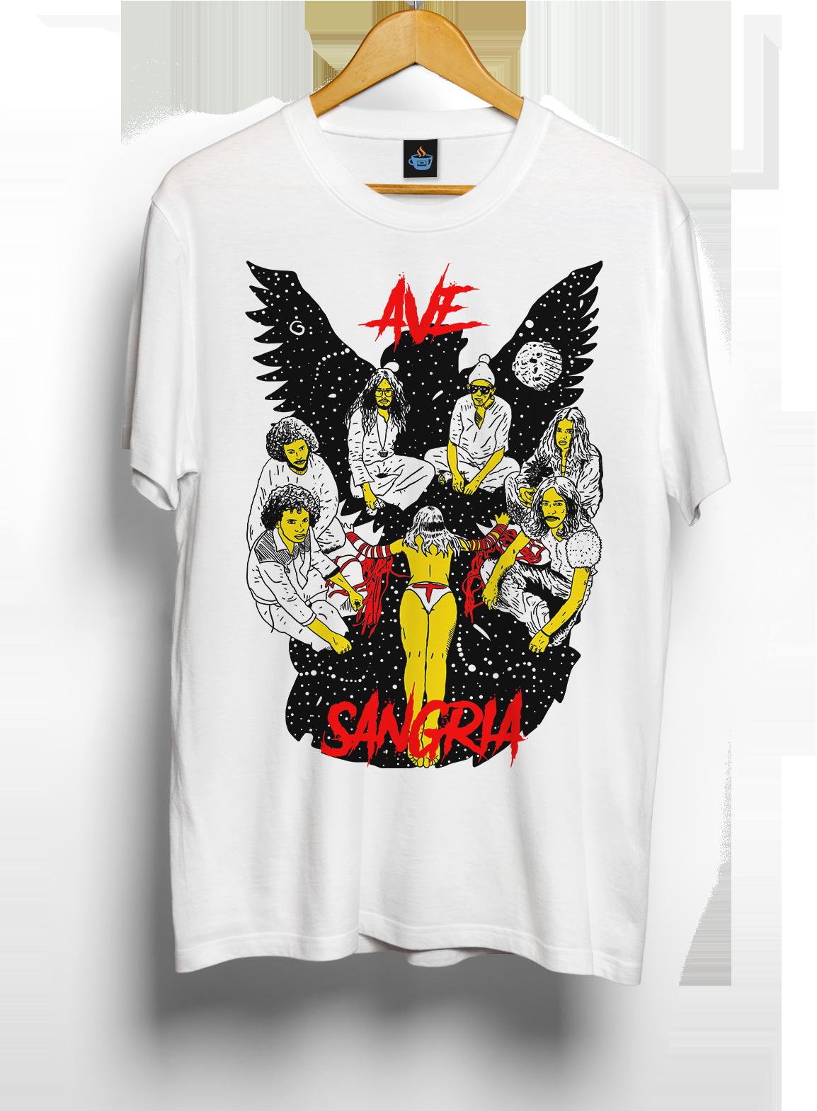 Camiseta Ave Sangria