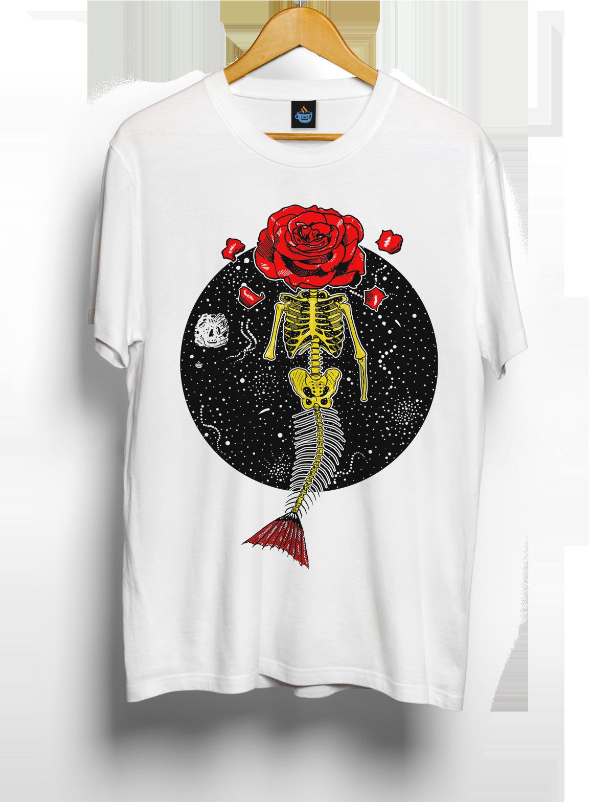 Camiseta Desabrochar da Sereia