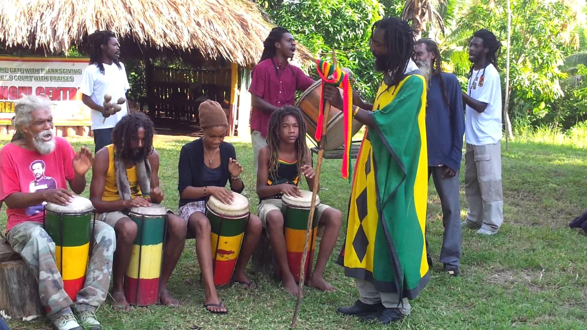 História do Reggar - Nyabinghi