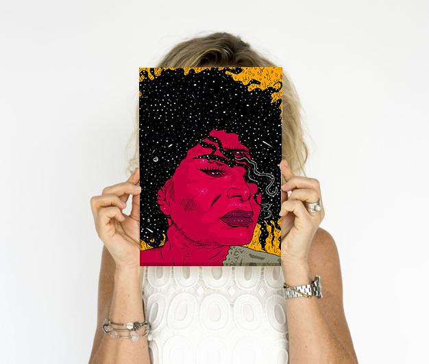 Poster Elza Soares A4