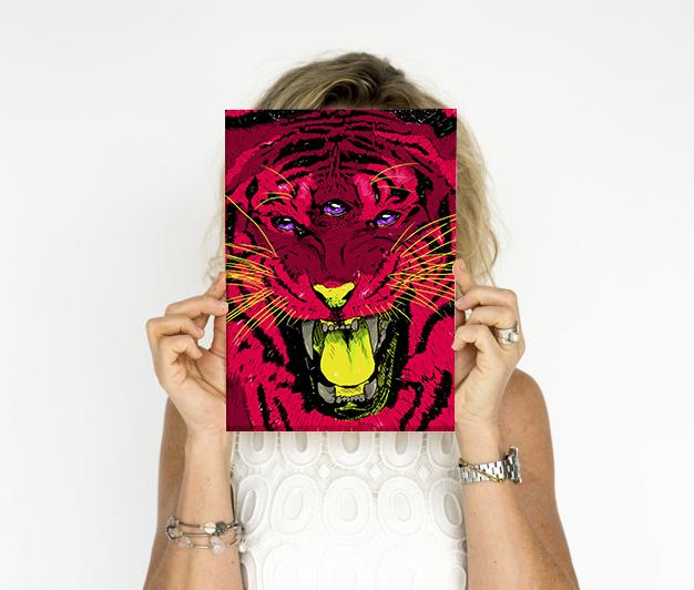 Poster Tigresa A4