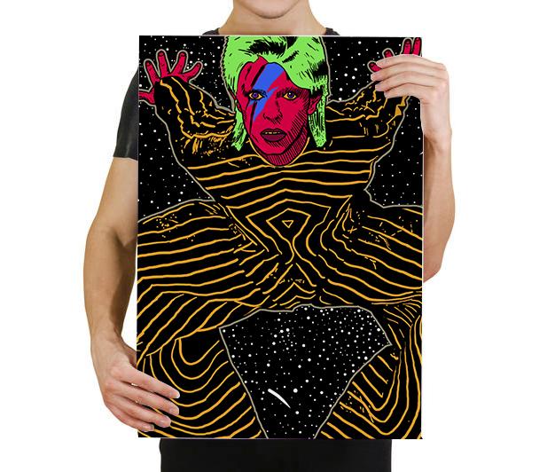 Quadro David Bowie A2