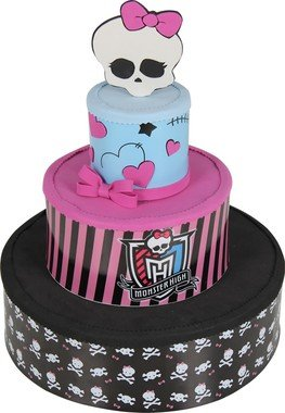 Bolo de eva Monster High