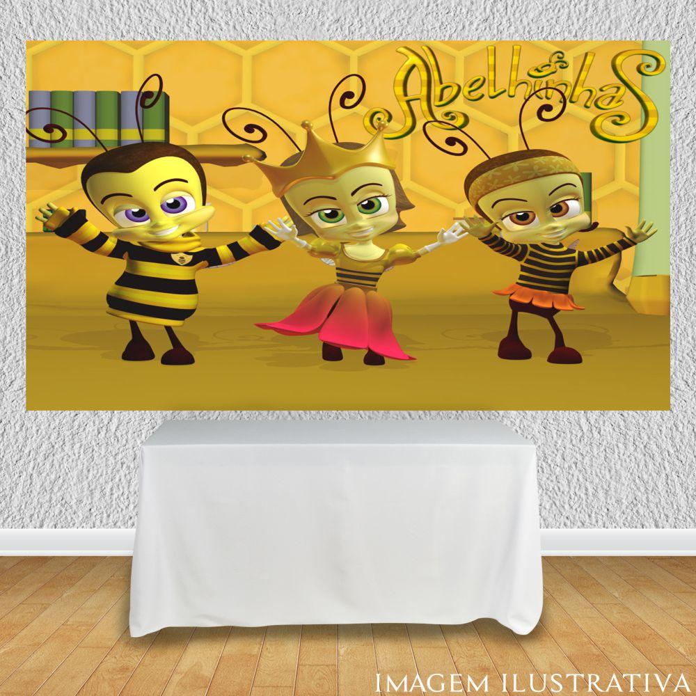 painel-para-festa-infantil-abelhinhas-dancando