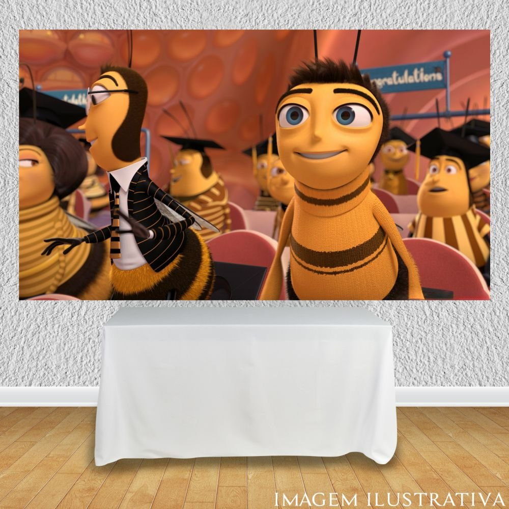 painel-para-festa-infantil-bee-moviee