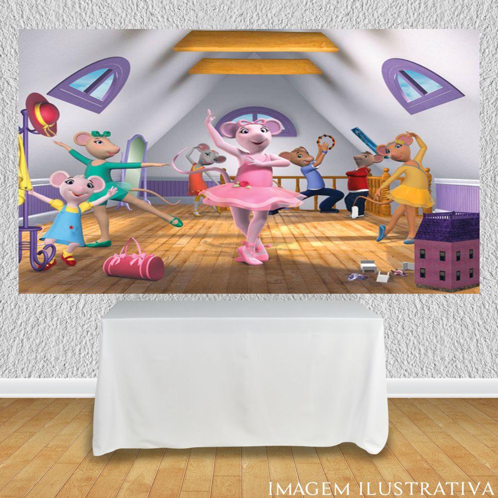 painel-para-festa-infantil-angelina-bailarina-no-balee