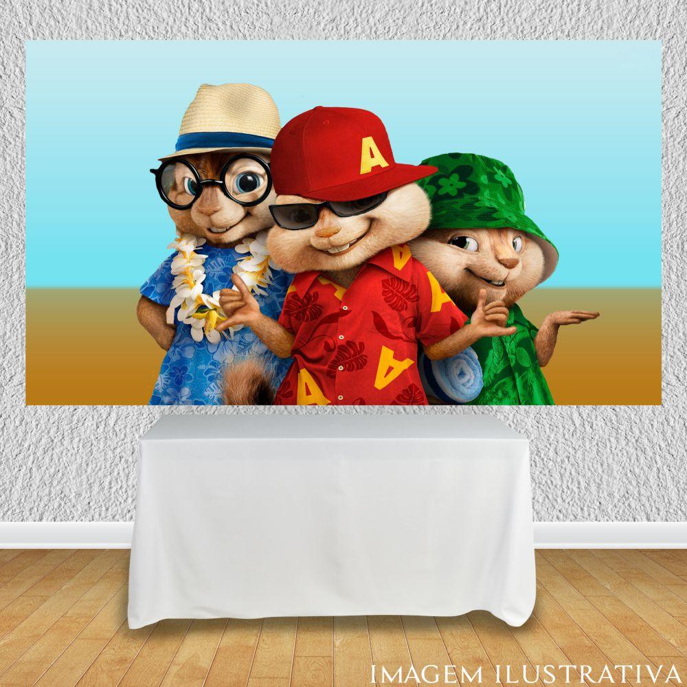 painel-de-festa-infantil-alvin-e-os-esquilos-na-praiaa