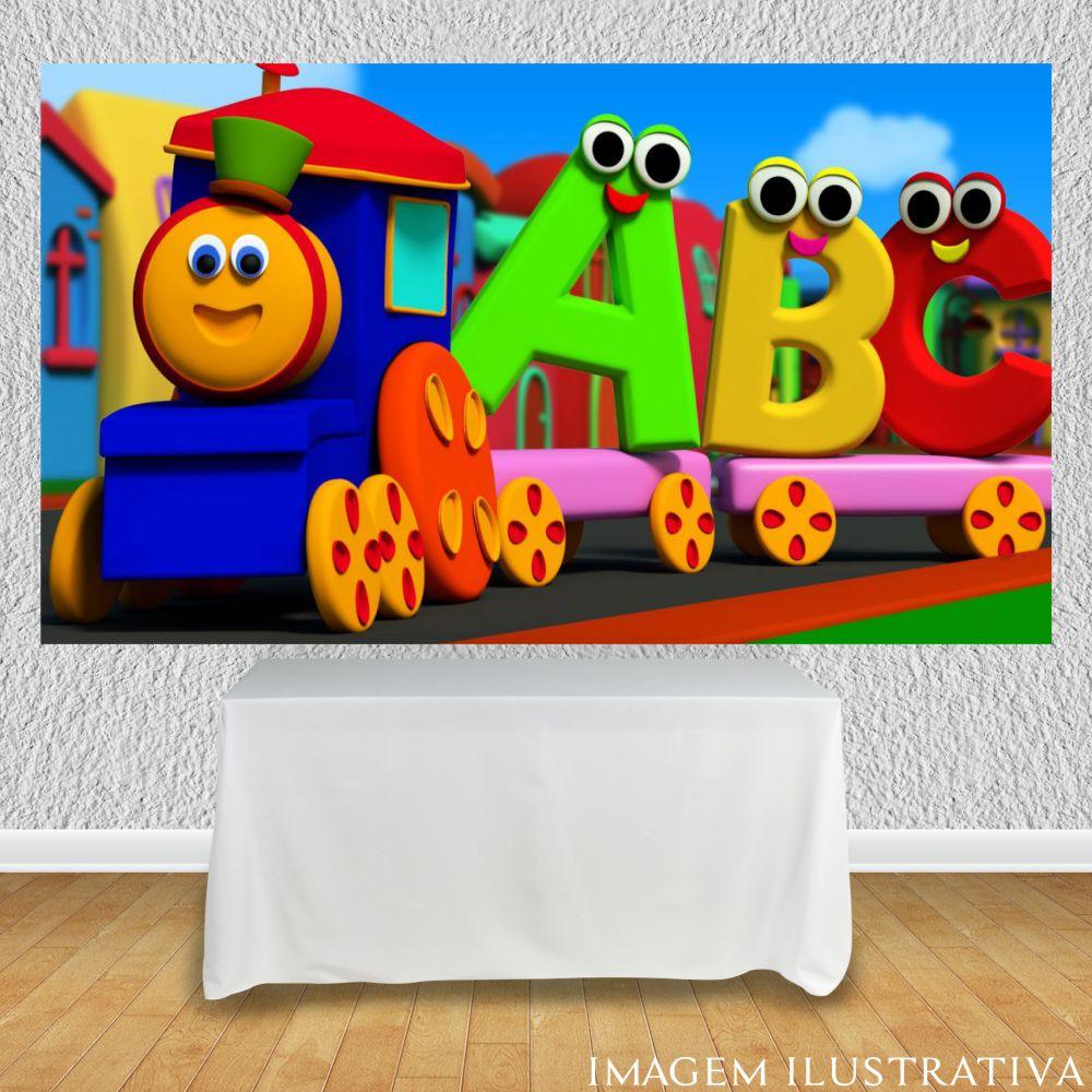 Painel Para Festa Infantil Bob O Trem Festa Oferta