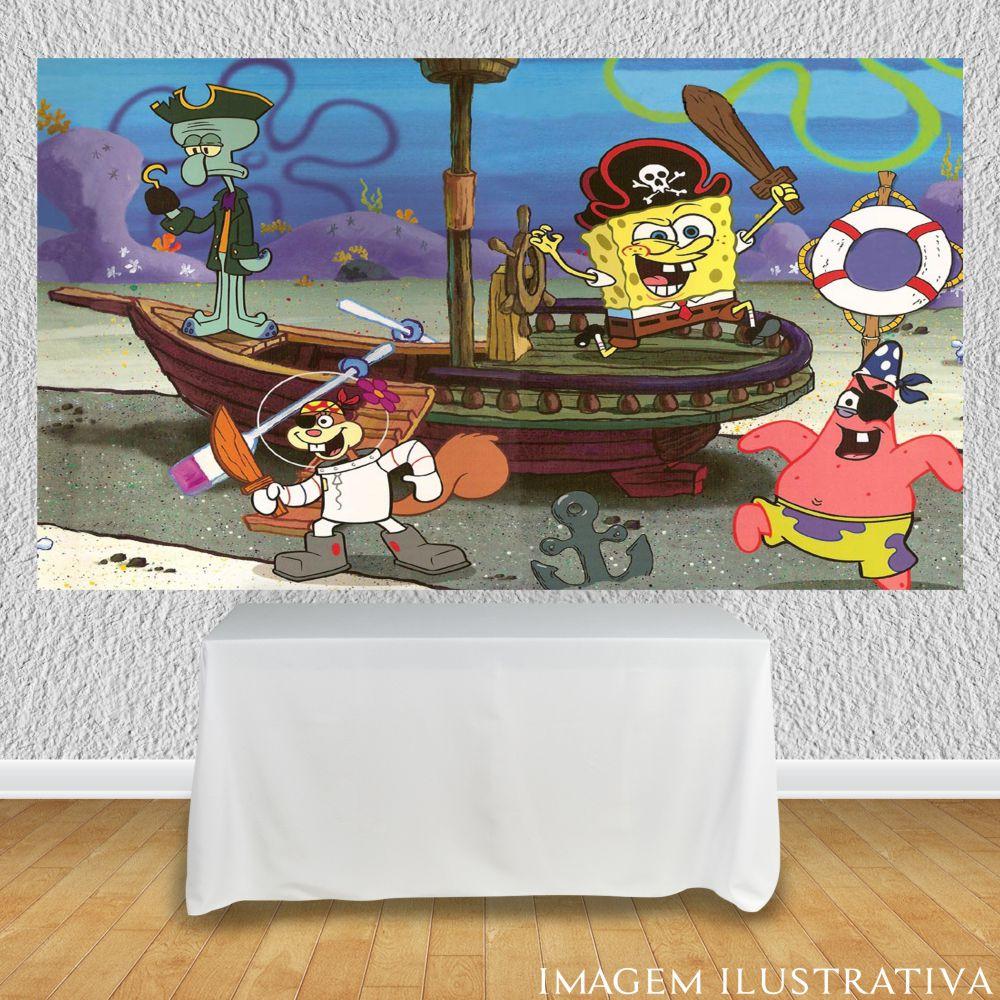 painel-de-festa-infantil-bob-esponja-piratas