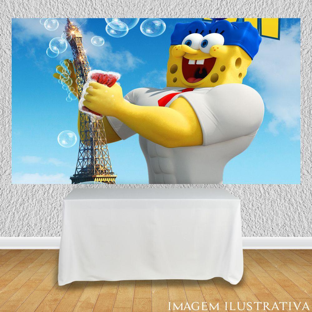 painel-de-festa-infantil-bob-esponja-3d-torre-eiffell