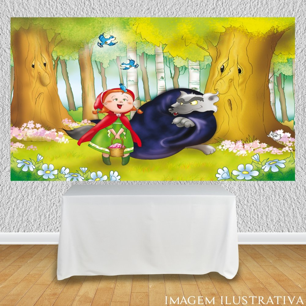 painel-de-festa-infantil-chapeuzinho-vermelho-e-o-lobo-mauu