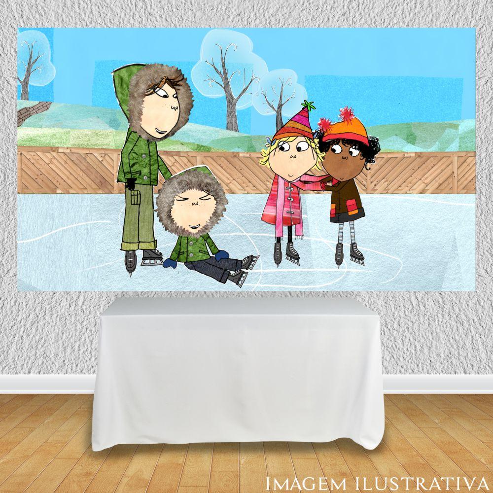 painel-de-festa-infantil-charlie-e-lola-patinando-no-geloo