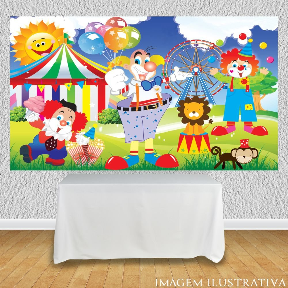 painel-de-festa-infantil-circo-palhacos-e-animaiss