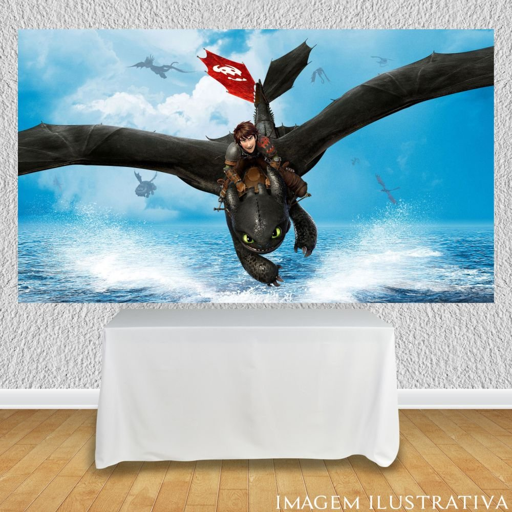 painel-de-festa-infantil-como-treinar-seu-dragao-banguela-voandoo