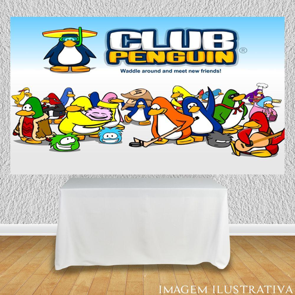 painel-de-festa-infantil-club-penguinn