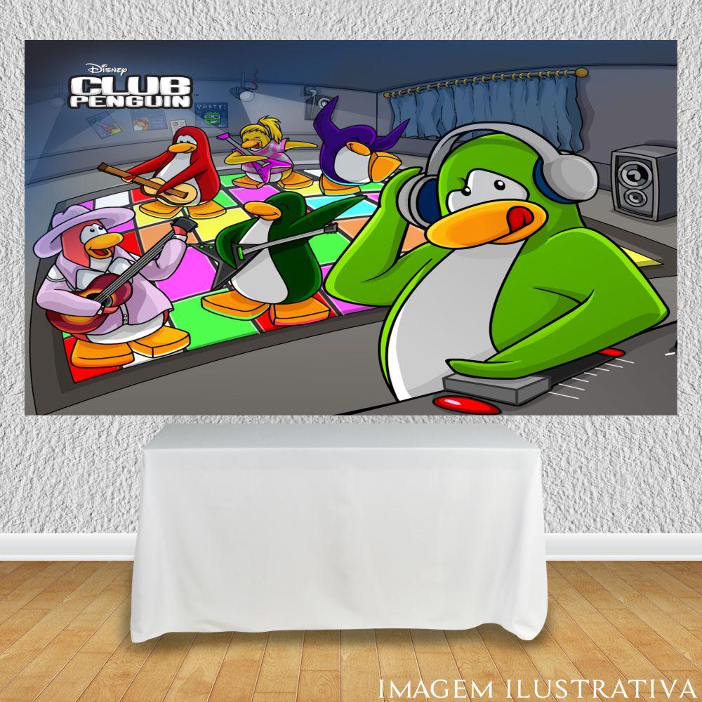 painel-de-festa-infantil-club-penguin-dj-