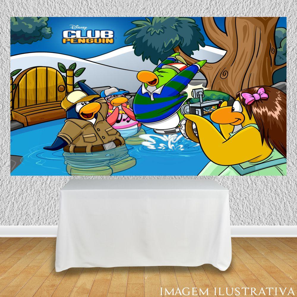 painel-de-festa-infantil-club-penguin-no-lagoo