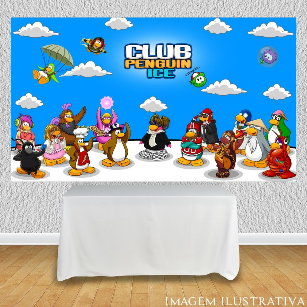 painel-de-festa-infantil-club-penguin-turma-completaa