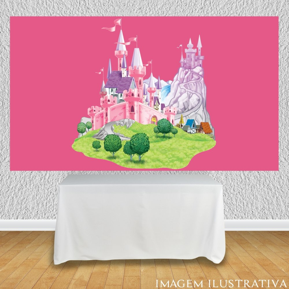 painel-de-festa-infantil-castelos-disney-fundo-rosaa