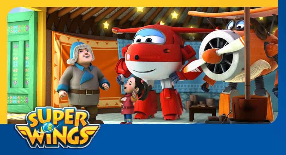 decoracao-festa-super-wings-toda-turma