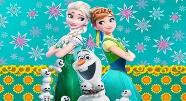 Painel de Festa Frozen Fever 005