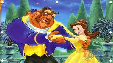 painel-de-festa-infantil-a-bela-e-a-fera-danca-romantica