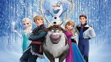 Painel de Festa Infantil Frozen - Uma Aventura Congelante