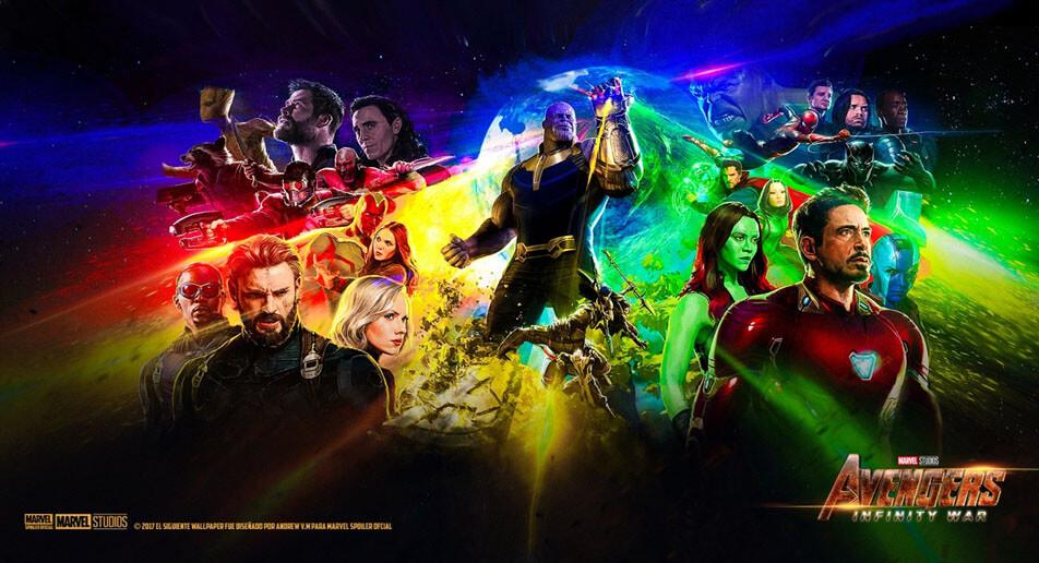 painel-vingadores-guerra-infinita-todos-os-personagens