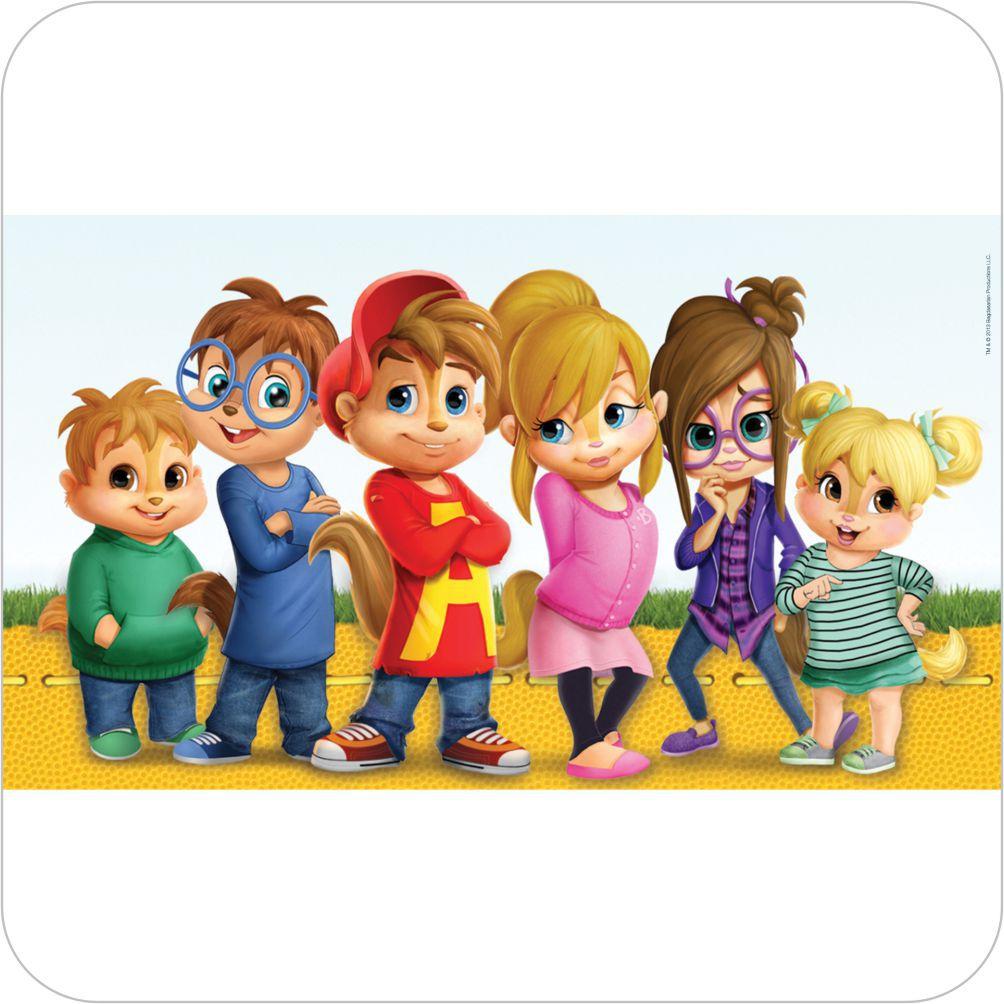 Painel Para Festa Infantil Alvin E Os Esquilos Nickelodeon Grupo