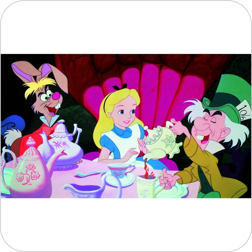 Painel Para Festa Infantil Alice No Pais Das Maravilhas Desenho