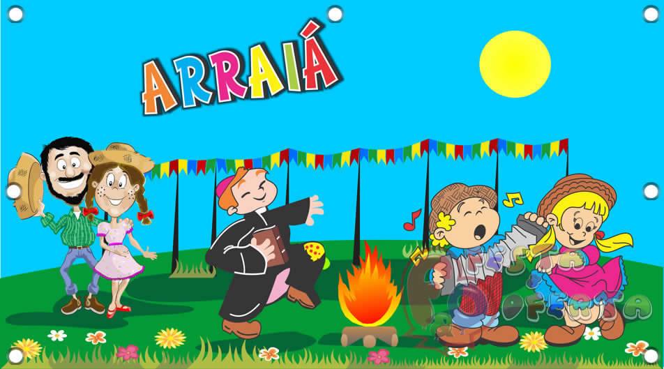 Painel Para Decoração De Festa Infantil Festa Junina Arraiá