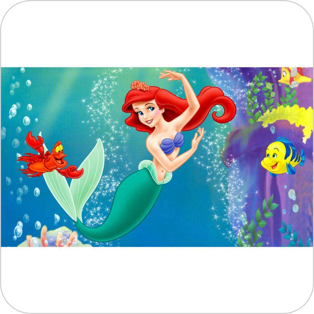 Painel Para Festa Infantil A Pequena Sereia Ariel Festa Oferta