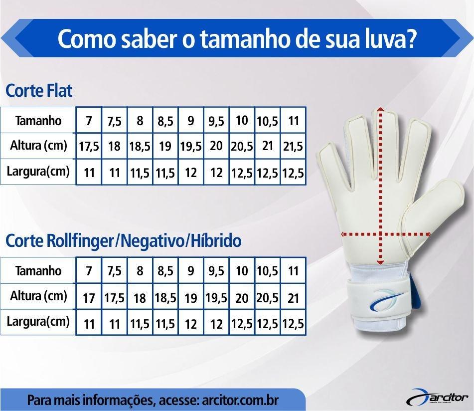 Luva de Goleiro Poker Magnet Pro Silver Futsal. Luva Goleiro Rinat  Asimetrik ETNIK AS Amarelo com Neon Infantil Por  R  89 19f525dc33a28