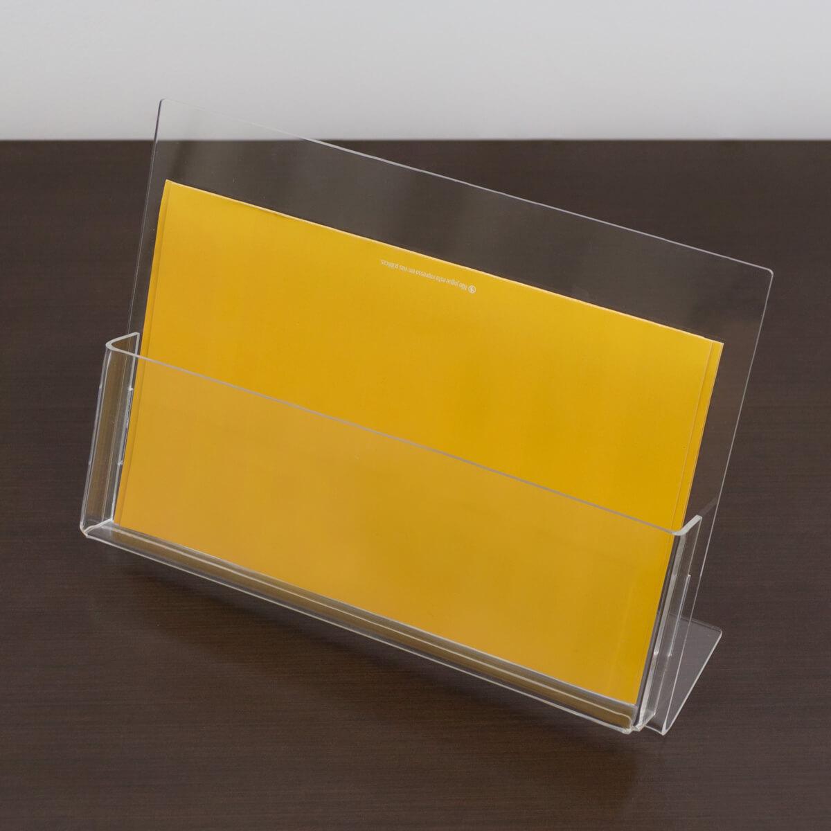 Porta folder a5 de acrílico