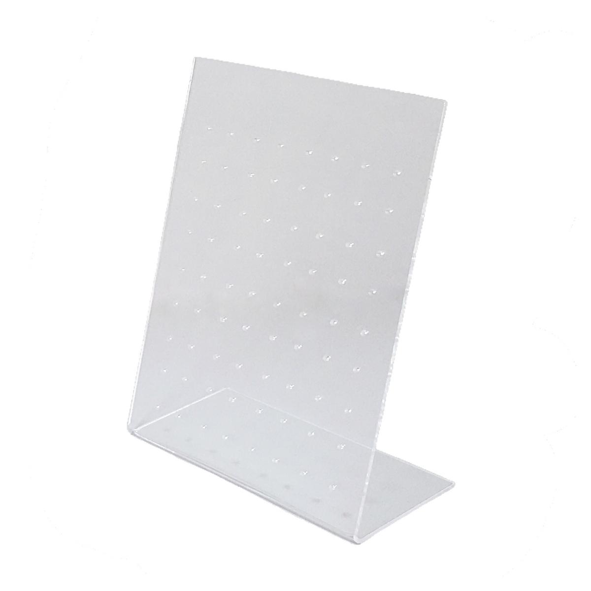 Expositor de brincos transparente