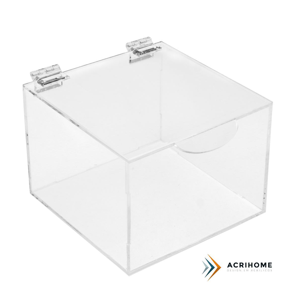 caixa organizadora de acrílico