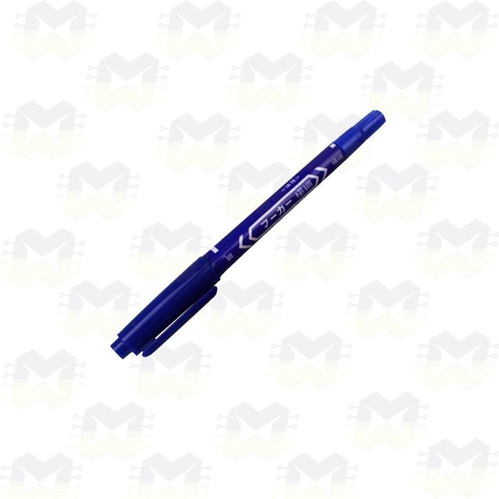 Caneta Azul para Desenho de Trilha em Placa de Circuito Impresso PCB