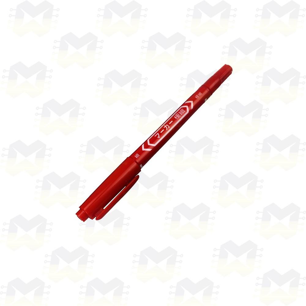 Caneta Vermelha para Desenho de Trilha em Placa de Circuito Impresso PCB