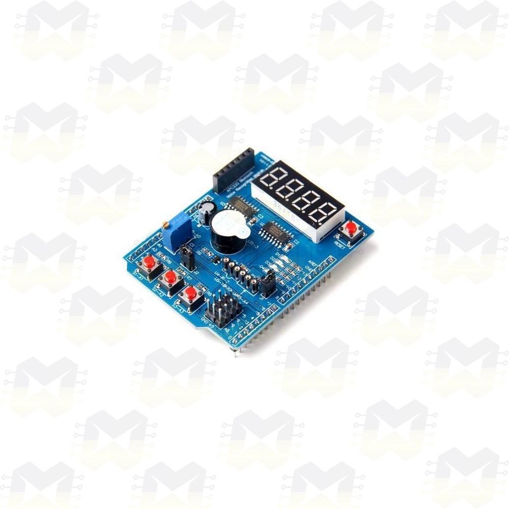 Shield Expansor de Multifunções para Arduino Uno e Leonardo