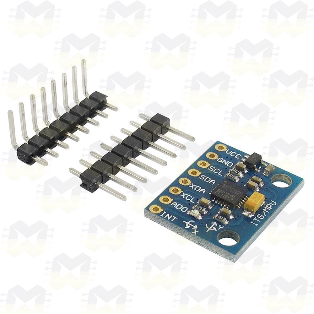 Módulo Acelerômetro e Giroscópio MPU-6050 GY-521 Arduino Raspberry Sensor Temperatura