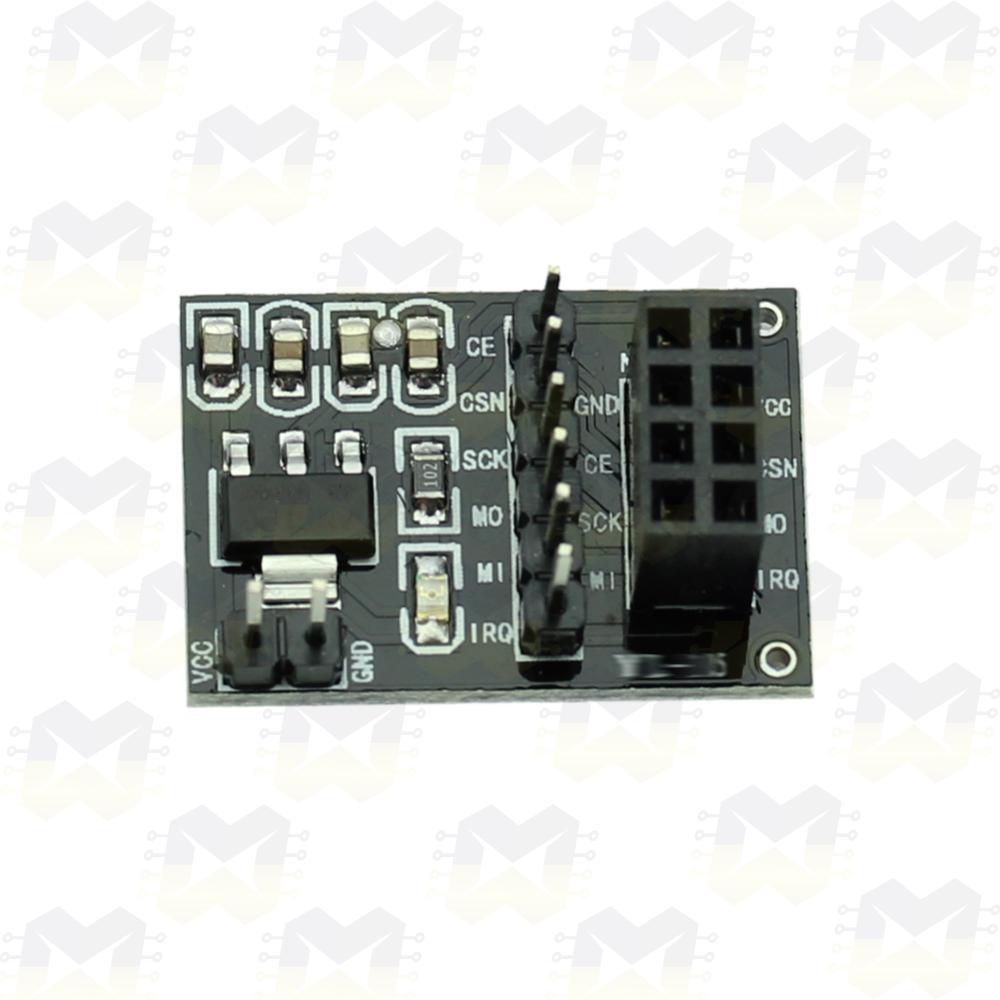 Módulo Adaptador para Transceptor Wireless 2.4GHz NRF24L01 Sem fio Arduino PIC Raspberry