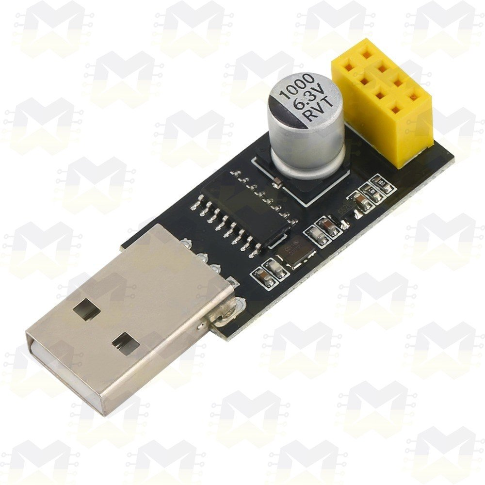 Adaptador USB Serial para WiFi ESP8266 ESP-01
