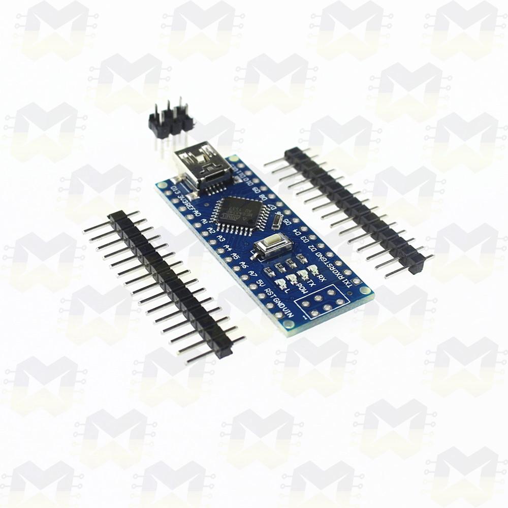 Arduino Nano V3.0 com Cabo USB  Projetos Robótica Automação Residencial